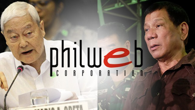 philweb牌照